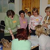 Участники ШК на занятии (2005 г.)