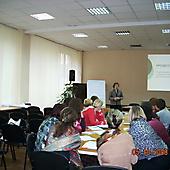 2008 год. Участники ШК на занятии