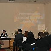 Приветствие участников ШК (2010 г.)