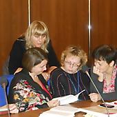 Участники МШК на занятии (2013 г.)