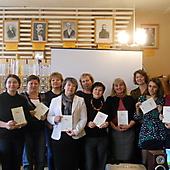 Участники МШК со свидетельствами