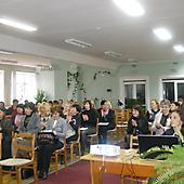 Участники МШК в библиотеке в Витебске (2013 г.)