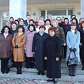 Участники МШК на экскурсии в Пушкинских горах (2010 г.)