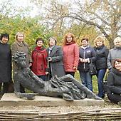 Участники МШК на экскурсии в Пушкинских горах (2013 г.)